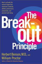 Breakout Principle, The by  William  Herbert; Proctor - Hardcover - 2003 - from Squirreled Away Books and Biblio.com