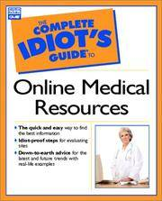 COMPLETE IDIOT'S GUIDE TO ONLINE MEDICAL RESOURCES