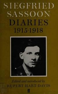 Siegfried Sassoon Diaries, 1915-1918