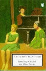 image of Something Childish and Other Stories (Penguin Twentieth Century Classics)