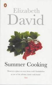 Summer Cooking (Penguin Cookery Library) by Elizabeth David - 2000-06-01