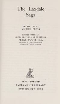 The Laxdaela Saga (The Laxdale Saga) (Everyman\'s Library)