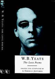 image of W.B. Yeats: the Love Poems Pb (Poetry)