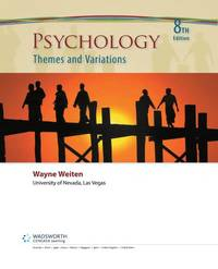 image of Psychology: Themes and Variations 8th Edition