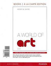 image of World of Art : Myartslab Books, A La Carte Edition