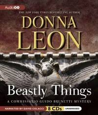 image of Beastly Things: A Commissario Guido Brunetti Mystery