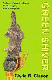 Green Shiver (Rue Morgue Vintage Mysteries)