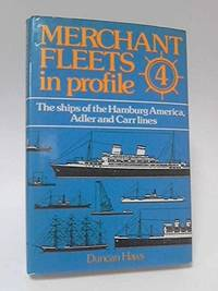 Merchant Fleets In Profile - 4 Ships Of Hamburg America, Adler & Carr Lines