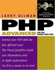 PHP Advanced for the World Wide Web: Visual QuickPro Guide by  Larry Ullman - Paperback - from HawkingBooks and Biblio.com