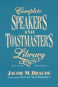 image of Complete Speaker's and Toastmaster's Library