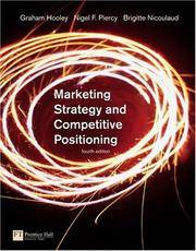 image of Marketing Strategy and Competitive Positioning (4th Edition)
