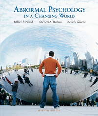 image of Abnormal Psychology in a Changing World (7th Edition)