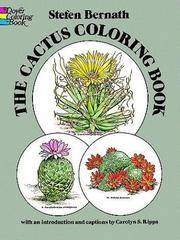 The Cactus Coloring Book (Dover Nature Coloring Book)