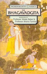 Bhagavadgita (Wordsworth Classics) by Vrinda Nabar - Paperback - 1999-12-05 - from Ergodebooks (SKU: DADAX1853261971)