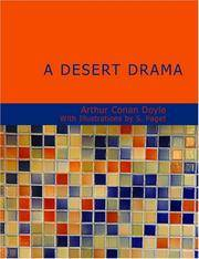 """image of A Desert Drama: Being the Tragedy of the """"Korosko"""
