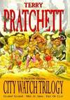"""image of The City Watch Trilogy: """"Guards!Guards!"""", """"Men at Arms"""", """"Feet of Clay"""" - A Discworld Omnibus"""