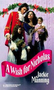 Wish For Nicholas (Harlequin Historical)
