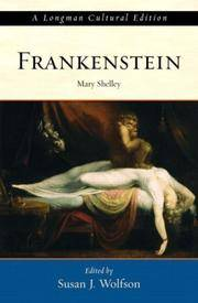 image of Frankenstein: A Longman Cultural Edition