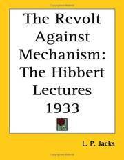 Revolt Against Mechanism