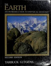 image of The earth: An introduction to physical geology