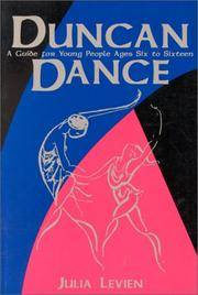 Duncan Dance: A Guide for Young People Ages Six to Sixteen