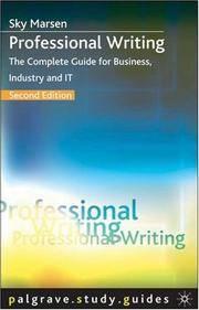 Professional Writing (Palgrave Study Skills)