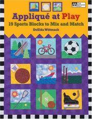 Applique at Play  19 Sports Blocks to Mix and Match