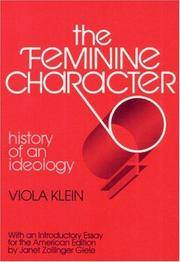 FEMININE CHARACTOR REPRNT: History of an Ideology