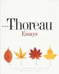 Essays by  Henry D Thoreau - First Thus  - 2013 - from Ross & Haines (SKU: 012527)