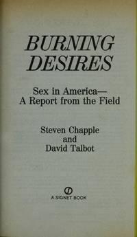 Burning Desires: Sex in America A Report from the Field