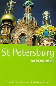 image of St. Petersburg: The Rough Guide, Third Edition (St Petersburg (Rough Guides), 3rd ed)