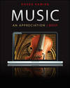 image of Music:Appreciation, Brief-With 5 CDS and Music Connect Access Code