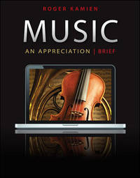 MUSIC:APPRECIATION,BRIEF-W/5 C by Roger Kamien - Paperback - 7th - 2011-01-01 - from Ergodebooks and Biblio.co.uk