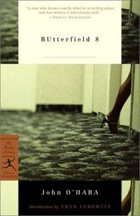 image of BUtterfield 8 (Modern Library Classics)