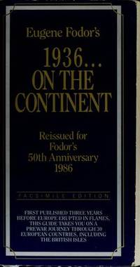 FD 1936 ON CONTINENT (Fodor's Essential Europe)