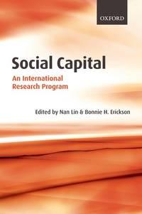 Social Capital: An International Research Program