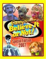 Ripley's Special Edition 2007 (Ripley's Believe it or Not Special Edition) M, Packard and...