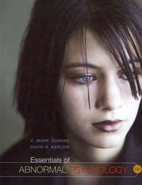 image of Essentials of Abnormal Psychology (with Psychology CourseMate with eBook Printed Access Card) (Psy 254 Behavior Problems and Personality)