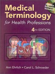 image of Medical Terminology for Health Professions (Book with 2 Audio Cassettes + CD-ROM)