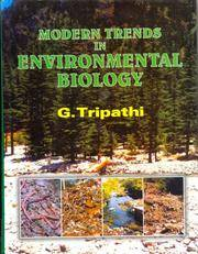 image of Modern Trends in Environmental Biology