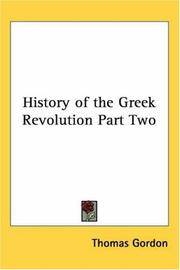 image of History of the Greek Revolution Part Two