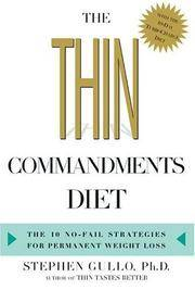 The Thin Commandments Diet The 10 No-Fail Strategies for Permanent Weight  Loss
