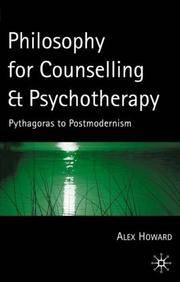 Philosophy For Counselling & Psychotherapy