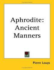 image of Aphrodite: Ancient Manners