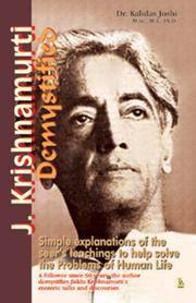 J. Krishnamurti Demystified
