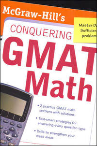 image of McGraw-Hill`s Conquering the GMAT Math