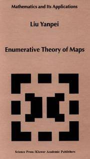 Enumerative Theory of Maps (Mathematics and Its Applications)