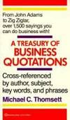 Treasury of Business Quotations