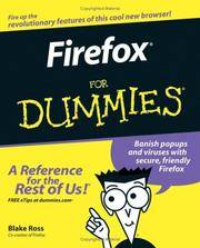 Firefox For Dummies