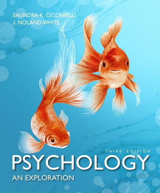 Psychology an exploration 3rd edition by ciccarelli for Book with fish on cover